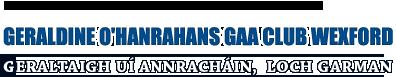 GARALDINE O'HANRAHANS GAA CLUB WEXFORD